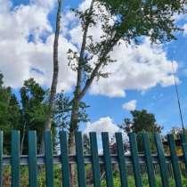 Валка, спил деревьев, в Казани