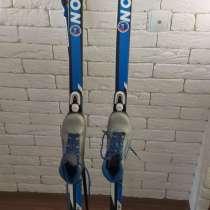 Лыжи детские 160 см. Размер ботинок 34, в Иркутске