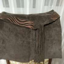 Женская юбка из натуральной замши, в Ейске