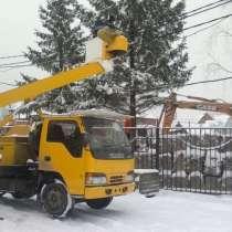 Аренда вышки, автовышки, манипулятора, в Новосибирске