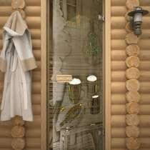 Стеклянные двери для бани, в Самаре