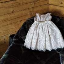 Платье на девочку рост 116см, в Минусинске