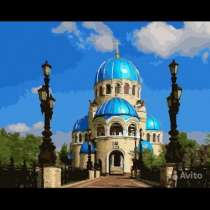 Картина по номерам 40/50, в Москве