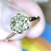 Кольцо золото 585 бриллиант 0.66 карат, в Екатеринбурге