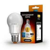 Светодиодная лампа (LED) Videx PremiumA60 15W E27 4100K 220V, в г.Чугуев