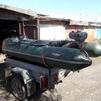 Лодка пвх с мотором 3,5лс, в Минусинске