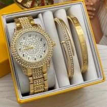 Набор часы и браслет, в Краснодаре