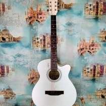 Гитару акустическая (новая) комплект, в Рязани