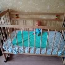 Детская кровать с матрасом, в Чите