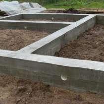 Строительство фундамент, в Тюмени