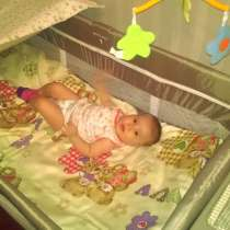 Продаю манеж - кровать, в идеальном состоянии б/у, в г.Бишкек
