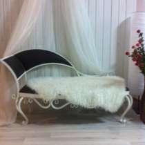 Кованый резной диван, в Туле