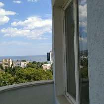 Видовая трехкомнатная квартира в Ялте у моря, в Ялте