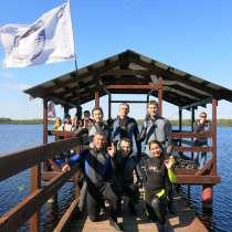 Погружаем под воду на задержке дыхания и с аквалангом, в Ханты-Мансийске