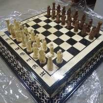 Деревянные шахматы и нарды ручной работы, в г.Минск