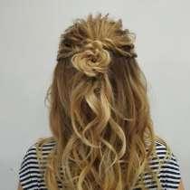Плетение кос, прически, в Москве