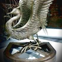 "Скульптура"" Серый журавлик"", в Краснодаре"
