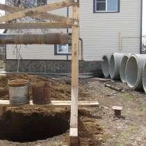 Копаем колодцы, канализации, траншеи, чистка, в г.Орша