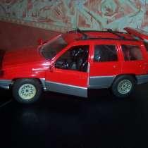 Модель авто 1/24 Джип Гранд чкроки, в Москве