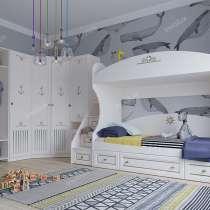 Коллекция детской мебели Эридан от фабрики Инволюкс, в Москве
