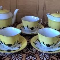 Сервиз чайный лфз, форма Лотос. СССР. раритет, в Новосибирске