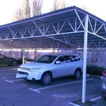 Навесы для парковок легковых и грузовых автомобилей, в Пензе