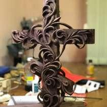 Православный крест из дерева. (художественная резьба), в Москве