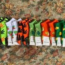 Носки цветные (фрукты, лепестки, цветочки и тд.), в Лобне