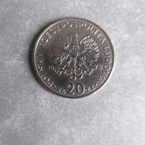 20 Злотых 1976 год Польша, в Москве