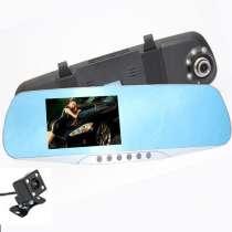 Зеркало-видеорегистратор с камерой (S20), в Ростове-на-Дону