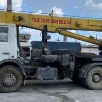 Продам автокран 32 тн, шасси МАЗ, в Челябинске