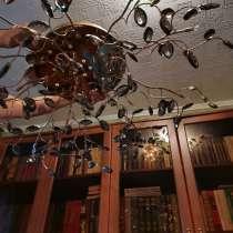 Новая люстра для дома с высоким потолком. 8 рожков, в Егорьевске
