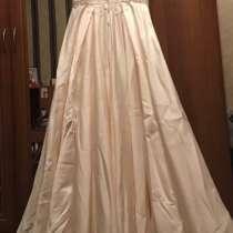 Свадебное платье новое, купила, стало маловато, в Домодедове