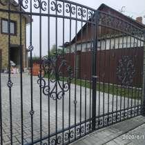 Изготовление на заказ ворот, калиток, заборов и т. д, в г.Орша