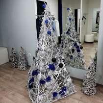 Новогодние дизайнерские елки. Создание и украшение елок, в Симферополе