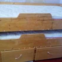 Выдвижная детская кровать для двоих детей, в Выселках