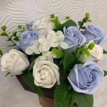 Цветы из мыла, в Железногорске