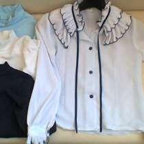 Школьная Блузка футболки 116-122 размер для девочки, в Москве