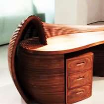 "Стол для офиса, кабинета ""Нора енота"", в г.Сан-Франциско"
