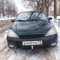 Продам авто Форд Фокус 2005г. в, 115л. с, цвет темно зелен, в Ульяновске