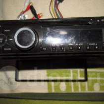 Магнитола Clarion CZ-100EG, CD/MP3, RDS, в Омске