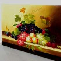 Виноград, 60х90см, Картина маслом на холсте, в Москве
