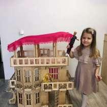 Кукольный дом Барби 102 см высота, в Красноярске