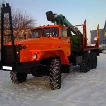 Лесовозный тягач на шасси Урал 4320, в Казани