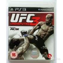 UFC 3 Undisputed Лицензионная Игра PS3 (Гарантия), в Санкт-Петербурге