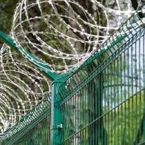 Проволока колючая, спиральный барьер безопастности, в Ярославле