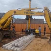 Установим свайные фундаменты для строительства дома, в Иванове