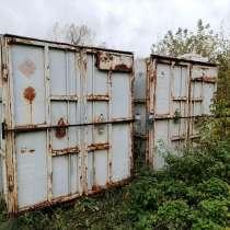Продам два 3х-тонных контейнера. 30 000 за каждый, в Коломне