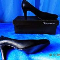 Туфли кожа, Германия фирма Тамарис, сохранился чек 3500руб, в Новороссийске