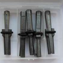 Стальные камнекольные клинья (комплект 5 штук) D14 L100 мм, в Санкт-Петербурге